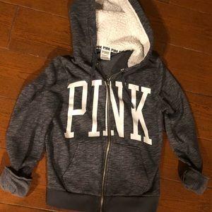 PINK VS Gray Jacket